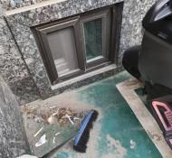 건물외부청소 작업